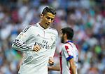 The Real Madrid Player Cristiano Ronaldo in a league football match in santiago Bernabeu stadium. 2014/09/13. Madrid. Spain. Samuel de Roman / Photocall3000