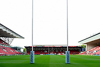 A general view of Ashton Gate Stadium. Gallagher Premiership match, between Bristol Bears and Bath Rugby on August 31, 2018 at Ashton Gate Stadium in Bristol, England. Photo by: Patrick Khachfe / Onside Images