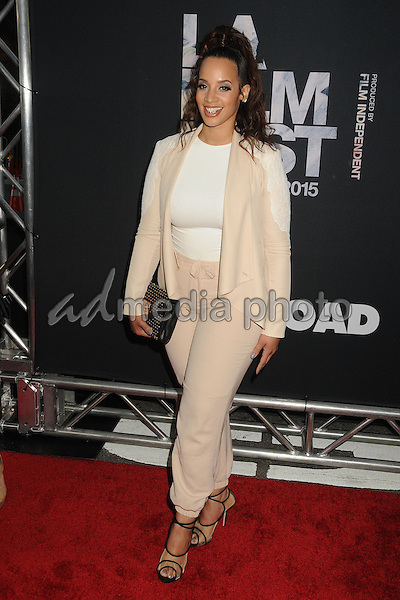 "8 June 2015 - Los Angeles, California - Dascha Polanco. LA Film Festival 2015 Premiere of ""Dope"" held at Regal Cinemas L.A. Live. Photo Credit: Byron Purvis/AdMedia"