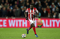 Mame Biram Diouf of Stoke City during West Ham United vs Stoke City, Premier League Football at The London Stadium on 16th April 2018