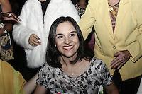 ATENCAO EDITOR: FOTO EMBARGADA PARA VEICULOS INTERNACIONAIS <br />  SAO PAULO, SP, 23 DE OUTUBRO, 2012  -  CONCURSO MISS E MISTER 3ª IDADE DO ESTADO DE SAO PAULO - Primeira Dama, Lu Alckmin, compareceu a 19ª edição do  Concurso Miss e Mister 3ª idade do Estado de São Paulo, que aconteceu na tarde dessa terça-feira, 23 - Memorial da America Latina, Barra Funda, zona oeste da capital - FOTO: LOLA OLIVEIRA-BRAZIL PHOTO PRESS