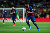 30th January 2020; Camp Nou, Barcelona, Catalonia, Spain; Copa Del Rey Football, Barcelona versus Leganes; Ansu Fati of FC Barcelona breaks forward on the ball
