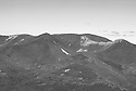 "The rugged, rocky Bonds are well seen from the ""Downlook"", an outstanding outlook in New Hampshires White Mountains."