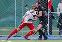 Hayden Phillips of the Blacksticks. International Hockey, Blacksticks men v Canada. Warkworth Hockey Turf, Warkworth, Auckland, New Zealand. Thursday 18 October 2018. Photo: Simon Watts/ Hockey NZ