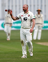 Darren Stevens prepares to bowl for Kent during the County Championship Division 2 game between Kent and Gloucestershire at the St Lawrence Ground, Canterbury, on Fri 13 Apr, 2018.