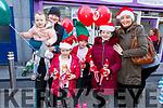 The Riordan family from Tralee enjoying the Christmas Parade on Saturday in Tralee. <br /> L-r, Caoilainn, Faidh, Brendan, Laoise, Aoibhin and Irene Riordan.
