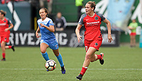 Portland, OR - Saturday April 29, 2017: Meghan Cox during a regular season National Women's Soccer League (NWSL) match between the Portland Thorns FC and the Chicago Red Stars at Providence Park.