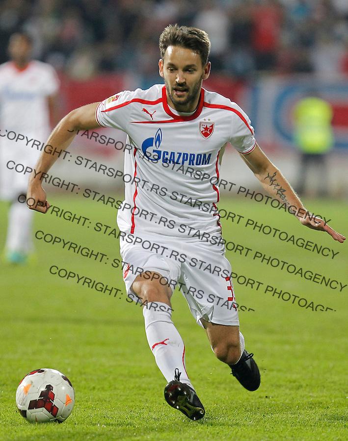 Fudbal Super liga season 2013-2014<br /> Radnicki Nis v Crvena Zvezda<br /> Milos Ninkovic <br /> Nis, 26.10.2013.<br /> foto: Srdjan Stevanovic/Starsportphoto &copy;