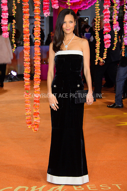 WWW.ACEPIXS.COM<br /> <br /> February 17 2015, London<br /> <br /> Thandie Newton attending The Royal Film Performance and World Premiere of 'The Second Best Exotic Marigold Hotel' at Odeon Leicester Square on February 17, 2015 in London<br /> <br /> By Line: Famous/ACE Pictures<br /> <br /> <br /> ACE Pictures, Inc.<br /> tel: 646 769 0430<br /> Email: info@acepixs.com<br /> www.acepixs.com