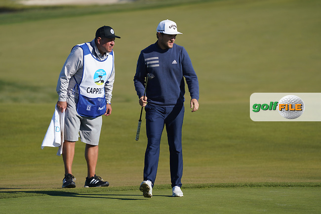Sebastian Cappelen (DEN) at Monterey Peninsula during the second round of the AT&T Pro-Am, Pebble Beach, Monterey, California, USA. 06/02/2020<br /> Picture: Golffile | Phil Inglis<br /> <br /> <br /> All photo usage must carry mandatory copyright credit (© Golffile | Phil Inglis)