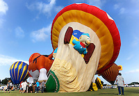 Hot Air Balloons at The Plano Balloon Festival.