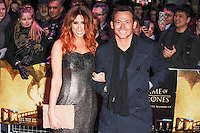 "Stacey Solomon and Joe Swash<br /> at the ""Game of Thrones Hardhome"" gala screening, Empire, Leicester Square London<br /> <br /> <br /> ©Ash Knotek  D3098 12/03/2016"