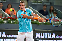 Tomas Berdych during the match of the Charity day previus at Madrid Open Tenis 2017in  Madrid, Spain. May 04, 2017. (ALTERPHOTOS/Rodrigo Jimenez) /NORTEPHOTO.COM