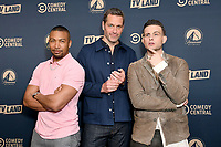 30 May 2019 - West Hollywood, California - Charles Michael Davis, Nico Tortorella, Peter Hermann. Paramount Network, Comedy Central, TV Land Press Day 2019 held at The London West Hollywood  . Photo Credit: Birdie Thompson/AdMedia<br /> CAP/ADM/BT<br /> ©BT/ADM/Capital Pictures