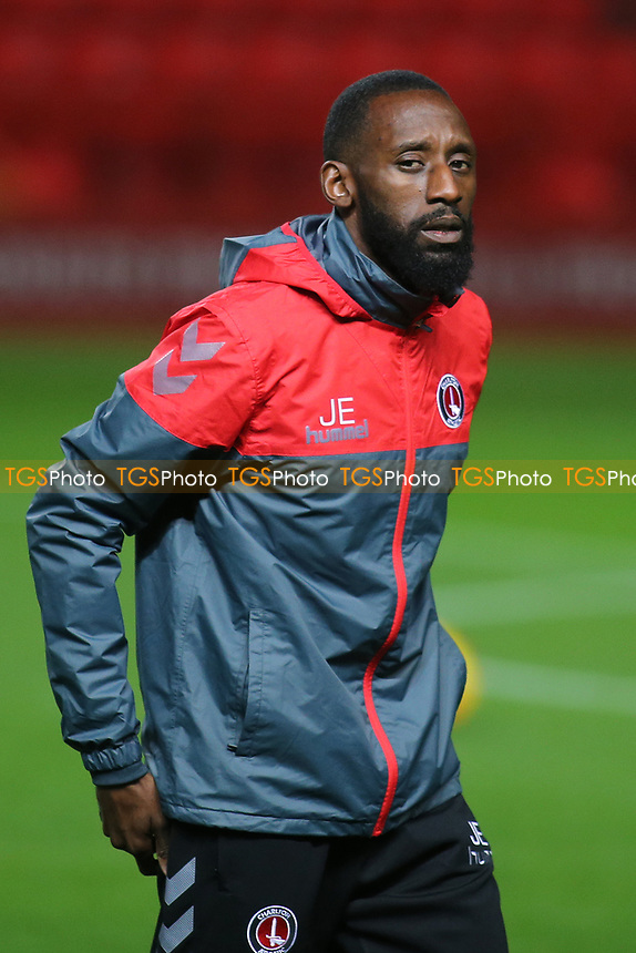 Charlton Athletic Under 21 Coach, Jason Euell during Charlton Athletic vs Fulham Under-21, Checkatrade Trophy Football at The Valley on 1st November 2017
