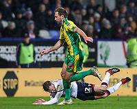 Bolton Wanderers' Craig Noone competing with West Bromwich Albion's Craig Dawson<br /> <br /> Photographer Andrew Kearns/CameraSport<br /> <br /> The EFL Sky Bet Championship - Bolton Wanderers v West Bromwich Albion - Monday 21st January 2019 - University of Bolton Stadium - Bolton<br /> <br /> World Copyright © 2019 CameraSport. All rights reserved. 43 Linden Ave. Countesthorpe. Leicester. England. LE8 5PG - Tel: +44 (0) 116 277 4147 - admin@camerasport.com - www.camerasport.com