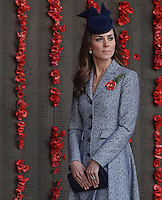 Kate, Duchess of Cambridge & Prince William attend the ANZAC Commemorative Service -  Australia