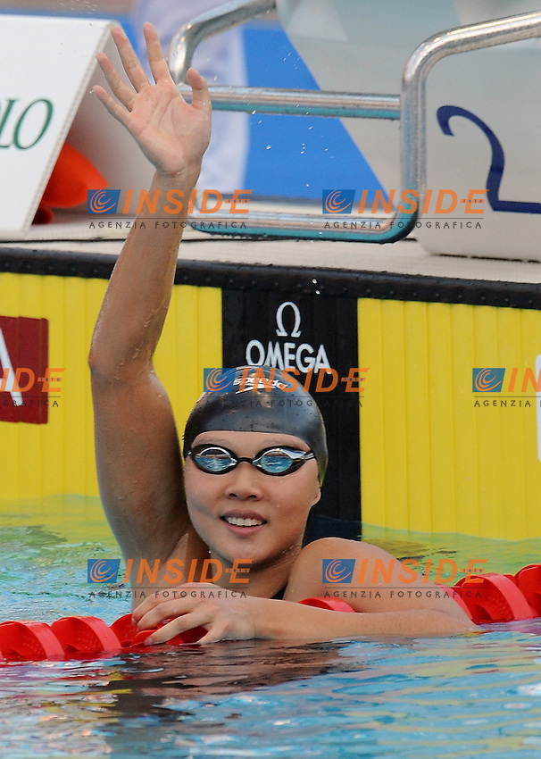Roma 30th July 2009 - 13th Fina World Championships From 17th to 2nd August 2009....Swimming finals..Women's 50m backstroke..Gao Chang (CHN)....photo: Roma2009.com/InsideFoto/SeaSee.com