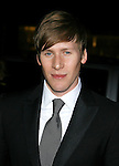 LOS ANGELES, CA. - January 31: Writer Dustin Lance Black  arrives at the 61st Annual DGA Awards at the Hyatt Regency Century Plaza on January 31, 2009 in Los Angeles, California.