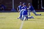 Koji Uehara (Cubs),<br /> FEBRUARY 15, 2017 - MLB : Japn's pitcher Koji Uehara (R) of the  Chicago Cubs spring training baseball camp in Mesa, Arizona. United States.<br /> (Photo by AFLO)