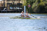 Race: 15  Event: Championship 2x<br /> Crew: 411  Club: Cork (IRE)<br /> Crew: 412  Club: Leander<br /> <br /> Henley Women's Regatta 2018<br /> Friday<br /> <br /> To purchase this photo, or to see pricing information for Prints and Downloads, click the blue 'Add to Cart' button at the top-right of the page.