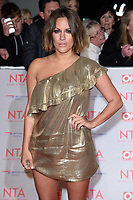 Caroline Flack at the National Television Awards 2018 at the O2 Arena, Greenwich, London, UK. <br /> 23 January  2018<br /> Picture: Steve Vas/Featureflash/SilverHub 0208 004 5359 sales@silverhubmedia.com