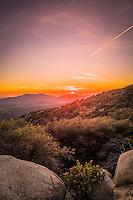 Thomas Mountain View at Sunset