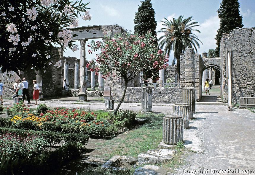 House of the Faun, Pompeii Italy, 425 BCE - 79 CE