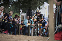 Jolien Verschueren (BEL/Telenet-Fidea)<br /> <br /> Brico-cross Geraardsbergen 2016<br /> womens race