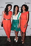 Maria Giulia Maramotti (left), Hannah Bronfman (center) and Nichole Galicia attend the annual Whitney Art Party hosted by the Whitney Contemporaries, and sponsored by Max Mara, at Skylight at Moynihan Station on May 1, 2013.