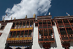 HEMIS GOMPA, LADAKH, HIMALAYA, INDIA - SEPTEMBER 28, 2009: The Hemis Gompa or Hemis Monastery was established in 1672 and lies 40 km southeast of Leh in Ladakh. (Photo by Dirk Markgraf)