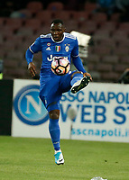 Kwadwo Asamoah  during the  italian serie a soccer match,between SSC Napoli and Juventus       at  the San  Paolo   stadium in Naples  Italy , April 02, 2017