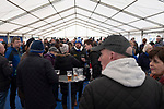 Ipswich Town 0, Oxford United 1, 22/02/2020. Portman Road, SkyBet League One. Home fans in the Fan Zone outside the stadium before Ipswich Town play Oxford United in a SkyBet League One fixture at Portman Road. Both teams were in contention for promotion as the season entered its final months. The visitors won the match 1-0 through a 44th-minute Matty Taylor goal, watched by a crowd of 19,363. Photo by Colin McPherson.