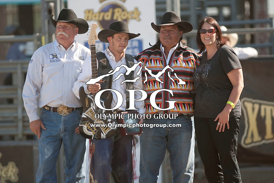 28 Aug 2011:  Cody Whitney won the  Seminole Hard Rock Extreme Bulls competition held at the Kitsap County Fair and Stampede Rodeo in Bremerton, Washington.