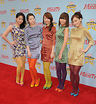 "HOLLYWOOD, CA. - December 05: Wonder Girls arrives at Variety's 3rd annual ""Power of Youth"" event held at Paramount Studios on December 5, 2009 in Los Angeles, California."
