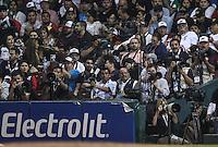 Chris Roberson, durante el  partido final de la Serie del Caribe en el nuevo Estadio de  los Tomateros en Culiacan, Mexico, Martes  7 Feb 2017. Foto: AP/Luis Gutierrez