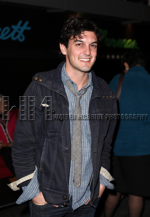 Wesley Taylor attend the opening night performance reception for the Keen Company production of Marry Me A Little at the Clurman Theatre in New York City on10/2/2012.