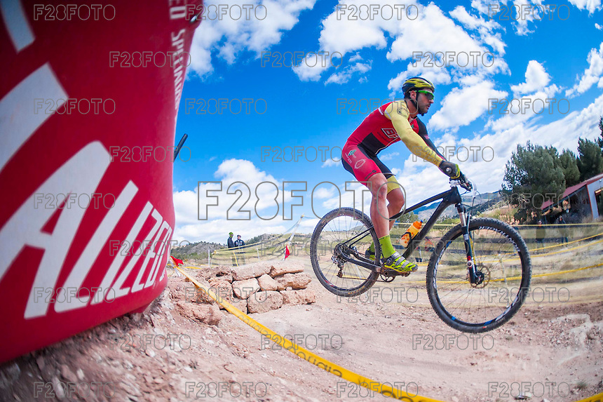 Chelva, SPAIN - MARCH 6: Jose Luis Ruiz during Spanish Open BTT XCO on March 6, 2016 in Chelva, Spain