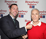 Dick Latessa attending the 'Broadway Salutes' honoring those who make Broadway Great at the Timers Square Visitors Center in Times Square,  New York City on 9/20/2012.