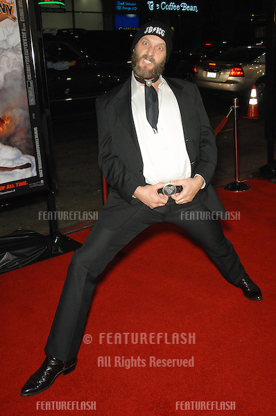 "JR REED at the Los Angeles premiere of his new movie ""Tenacious D in The Pick of Destiny""..November 9, 2006  Los Angeles, CA.Picture: Paul Smith / Featureflash"