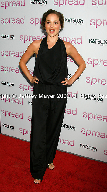 """HOLLYWOOD, CA. - August 03: Margarita Levieva arrives at the Los Angeles premiere of """"Spread"""" at the ArcLight Hollywood on August 3, 2009 in Hollywood, California."""