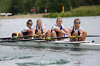 Race: 144  W.4+ (Band 1)  Final<br /> <br /> Peterborough Summer Regatta 2018 - Sunday<br /> <br /> To purchase this photo, or to see pricing information for Prints and Downloads, click the blue 'Add to Cart' button at the top-right of the page.