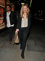 Laura Whitmore and Iain Stirling (background) at the &quot;Kinky Boots&quot; gala performance departures, Adelphi Theatre, The Strand, London, England, UK, on Tuesday 29 May 2018.<br /> CAP/CAN<br /> &copy;CAN/Capital Pictures
