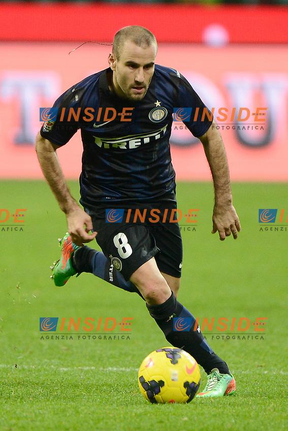 Rodrigo Palacio Inter<br /> Milano 09-02-2014 Stadio Giuseppe Meazza - Football 2013/2014 Serie A. Inter - Sassuolo Foto Giuseppe Celeste / Insidefoto