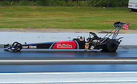 May 15, 2011; Commerce, GA, USA: NHRA top fuel dragster driver Ike Maier during the Southern Nationals at Atlanta Dragway. Mandatory Credit: Mark J. Rebilas-