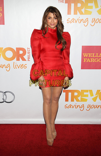 HOLLYWOOD, CA - DECEMBER 08: Paula Abdul at the TrevorLIVE Los Angeles Benefit celebrating The Trevor Project's 15th anniversary at the Hollywood Palladium on December 8, 2013 in Hollywood, California.CAP/ADM/KB<br /> &copy;Kevan Brooks/AdMedia/Capital Pictures