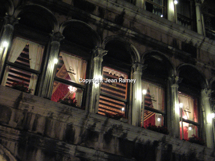 One of the elegant interiors of Venice