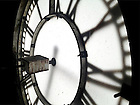 Feb. 21, 2013; Basilica clock face..Photo by Matt Cashore/University of Notre Dame