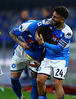 29th February 2020; Stadio San Paolo, Naples, Campania, Italy; Serie A Football, Napoli versus Torino; Giovanni Di Lorenzo of Napoli in the 82nd minute for 2-0