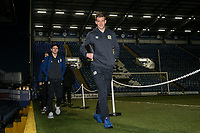 Blackburn Rovers' Lewis Travis and Paul Downing arriving at the stadium <br /> <br /> Photographer Andrew Kearns/CameraSport<br /> <br /> The EFL Sky Bet League One - Portsmouth v Blackburn Rovers - Tuesday 13th February 2018 - Fratton Park - Portsmouth<br /> <br /> World Copyright &copy; 2018 CameraSport. All rights reserved. 43 Linden Ave. Countesthorpe. Leicester. England. LE8 5PG - Tel: +44 (0) 116 277 4147 - admin@camerasport.com - www.camerasport.com